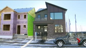 New net zero homes up for sale in Calgary